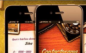 Sync Mobile - Aplicativo para iPhone Contactorama